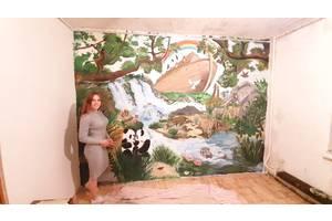 Дизайнер, художник + роспись стен