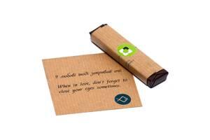 Корпоративные подарки с Вашим логотипом - шоколад с предсказаниями