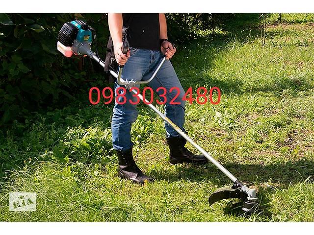 продам Кошения травы и кустарников быстро и качественно, выполняем также много других работ по дому на 100% качественно. бу в Прилуках