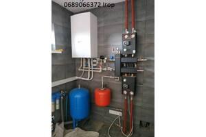 Монтаж опалення, водопостачання та каналізації. Сервіс. Гарантія