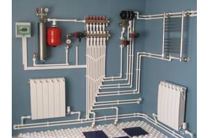 Монтаж систем отопления водоснабжения ремонт сантехника