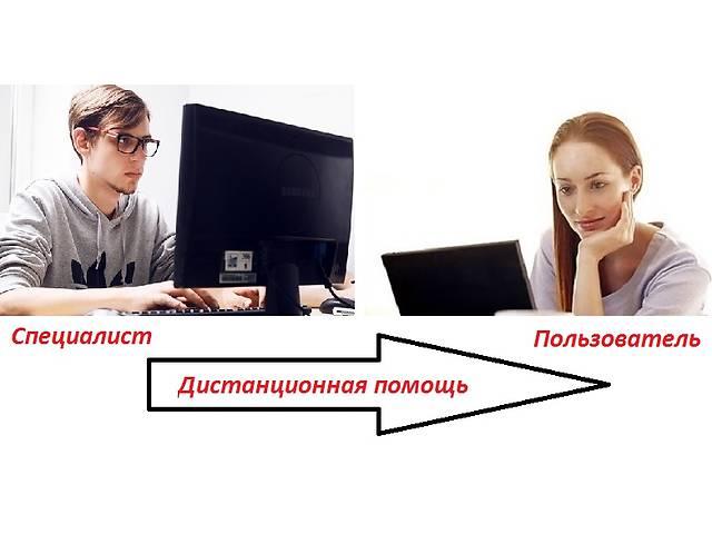 бу Обслуживание Вашего компьютера без приезда мастера удаленным способом.  в Украине