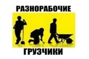 Разнорабочие и грузчики срочно Киев
