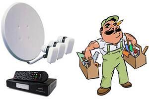Ремонт настройка спутниковых антенн тюнеров,установка антенн.спутник