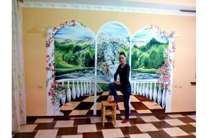 роспись стен художник розпис стін львів барельєф ліпка
