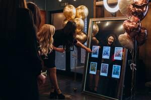 Селфі дзеркало 70' эвент бизнес / фотобудка / Соцсети + сайт