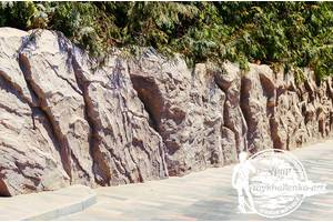 Скалы в ландшафте