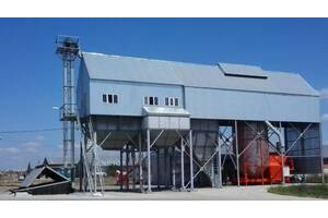 Строительство  зерноочистительно-сушильных комплексов КЗС