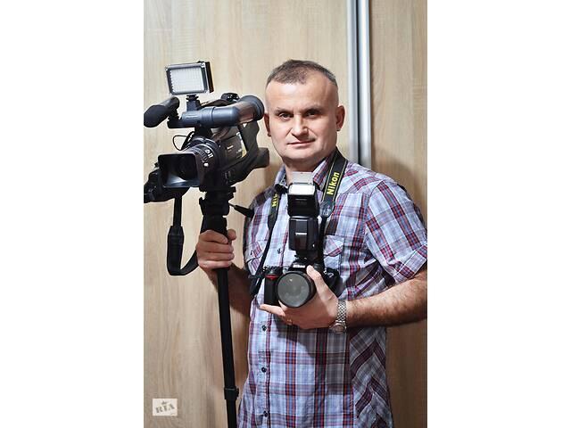 купить бу Фотограф от 300 грн.! Свадьбы, выпускные! Видеосъемка!  Сумы, область, УКРАИНА!  в Украине