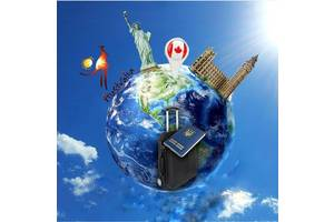 Виза в США, Канаду