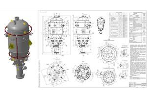 Инженер-конструктор, выполнение чертежей