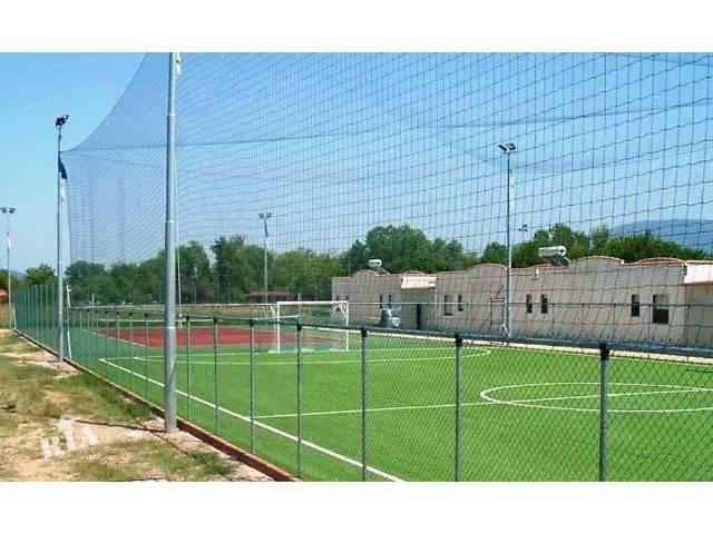 бу Сетка капроновая для ограждения футбольных полей, спортивных площадок, детских спортивных лабиринтов в Киеве