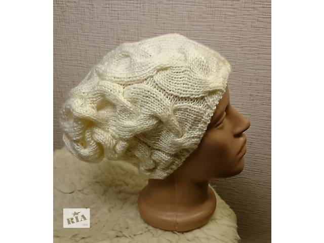 Шапка женская с косами- объявление о продаже  в Львове