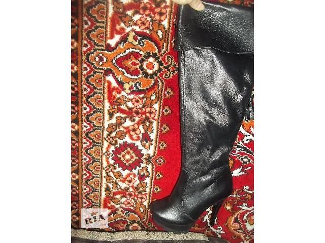 купить бу шири женские ботфорты новые в Львове
