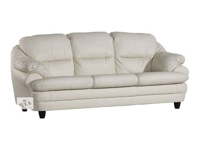 купить бу Шкіряний комплект Sara. кожаная мебель, кожаный диван + 2 кресла в Дрогобыче
