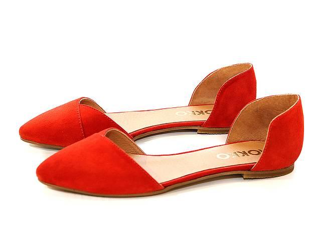 Балетки Mokko 37 Червоні (1637) - Жіноче взуття в Києві на RIA.com 3a2dceaa55a97