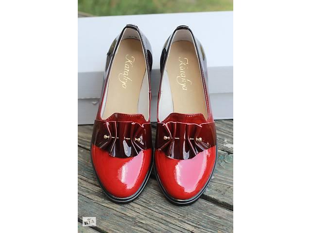 b437cd1d2 Модель 51 1 бордо женские туфли из натуральной лакированной кожи