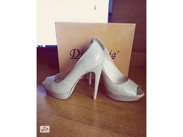 Продам красивые туфли с открытым носком. - Женская обувь в Одессе на ... d237d17249f