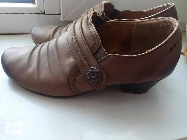 Шкіряні черевички на низькому каблуці 38р bianco- объявление о продаже в  Калуші e550264340aee