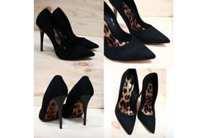 Nona! женские качественные туфли классика замш взуття каблуке ... 09890d2d72596