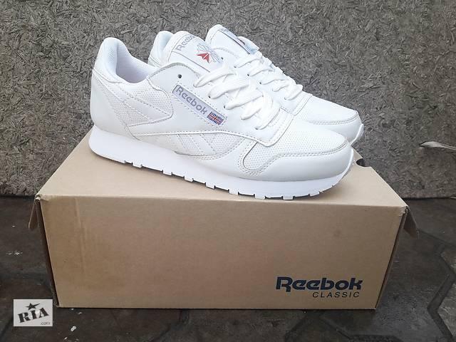 71908a81a8d0a2 купить бу Женские Кроссовки Reebok Classic White кожаные белые с коробкой в  Херсоні