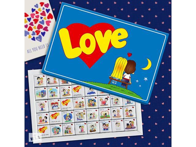 """продам Шоколадный набор """"Love is"""" 200 г бу в Днепре (Днепропетровск)"""