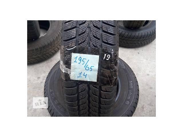 купить бу Шины зимние Uniroyal 195*65*R14 в Киеве