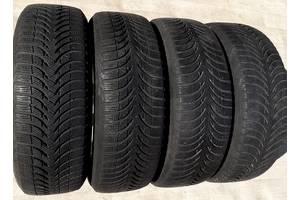 Шины зимние 205/60/16 Michelin Alpin A4 2х6. 5мм 2х5. 5мм зимние