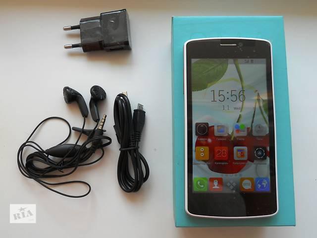 бу Смартфон Sony Xperia White 2sim, экран 4,5дюйма, Android 4.2.2,GPS  в Запорожье