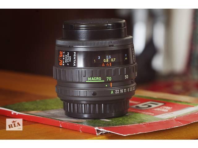 SMC Pentax-F ZOOM 1:3,5-4,5 35-70mm- объявление о продаже  в Северодонецке