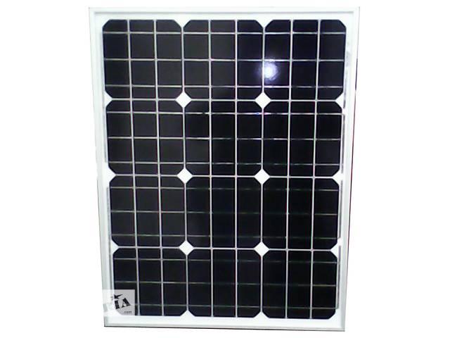 продам Солнечная батарея (панель) 50Вт, 12В, монокристаллическая бу в Запорожье