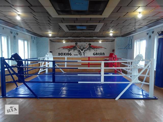 Боксерский ринг напольный и напомосте