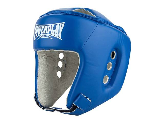 Боксерский PowerPlay шлем тренировочный cиний L 3084 SKL24-190065- объявление о продаже  в Одессе