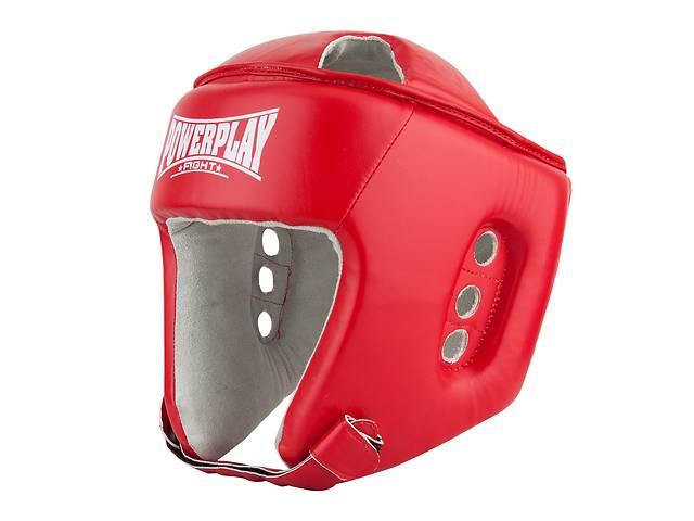 Боксерский шлем тренировочный PowerPlay красный XL 3084 SKL24-190072- объявление о продаже  в Одессе