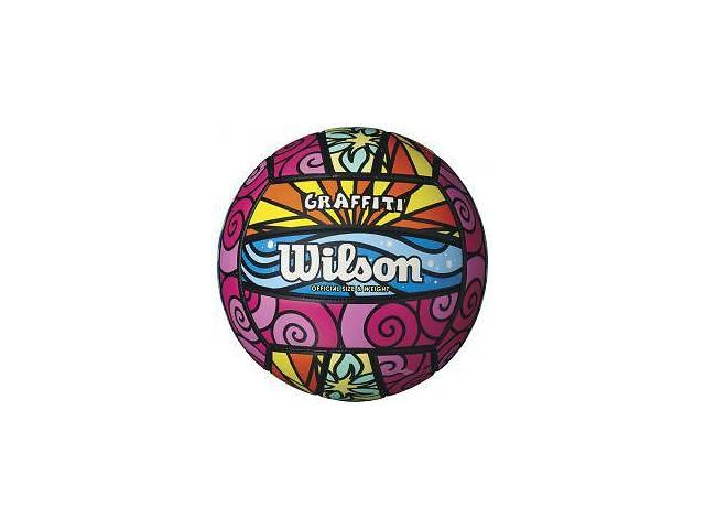 купить бу Мяч волейбольный Wilson Graffiti WTH4634XB Art. 4ist-735434601 в Киеве