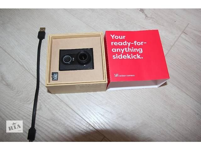 Спортивная камера Xiaomi YI МАКСИМАЛЬНАЯ комплектация- объявление о продаже  в Тернополе