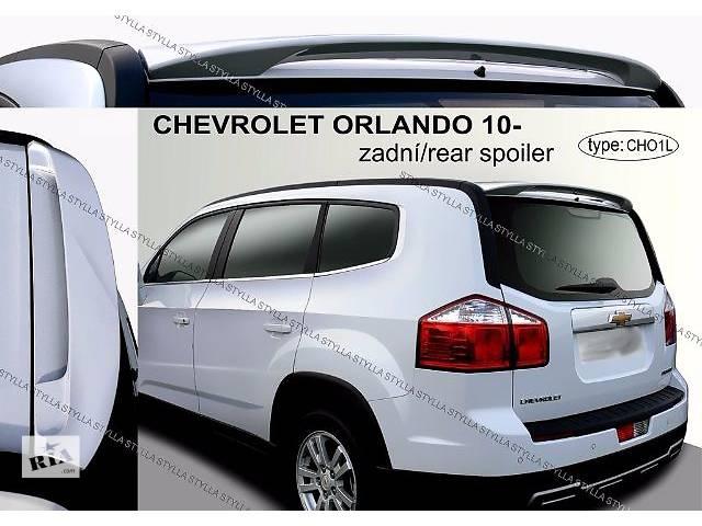 продам Спойлер козырек тюнинг Chevrolet Orlando Шевроле Орландо бу в Луцке