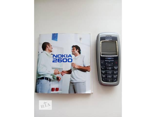 купить бу Срочно, цена снижена -мобильный телефон Nokia 2600 ( Венгерская сборка в Вишневом (Киевской обл.)