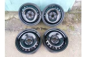 """Ст.диски""""VW AG""""(Germany) на VW Caddy, R15,6j""""15,5""""112,ET37,D=57,1 в отм.состоянии"""