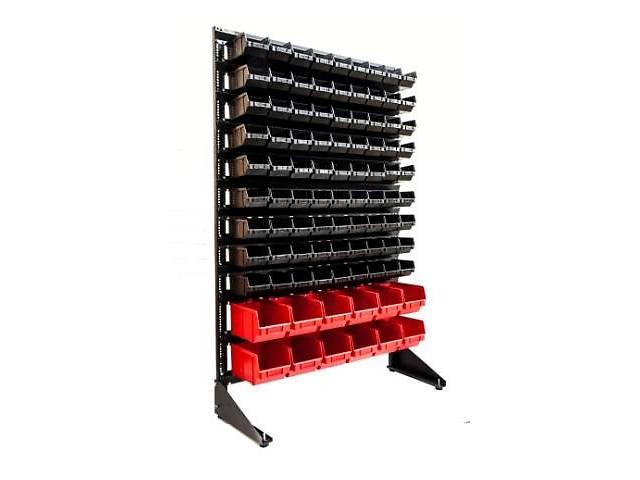 купить бу Стенд для металлических комплектующих с пластиковыми ящичками на склад, в магазин, на СТО или гараж в Одессе