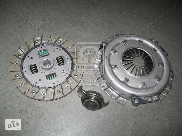 купить бу Сцепление (диски нажимной и ведущий, подшипник) нового образца ВАЗ 2109,2108 86- (Пр-во LUK) в Харькове