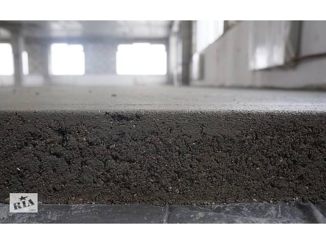 купить бу Стяжка підлоги машинним способом. Машинна стяжка підлоги.  в Украине