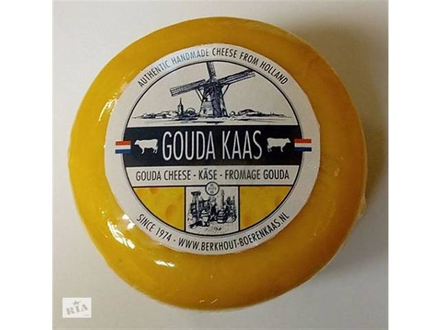 продам Сыр Berkhout Gouda Kaas Cheese, 435 г (Голландия) бу в Харькове