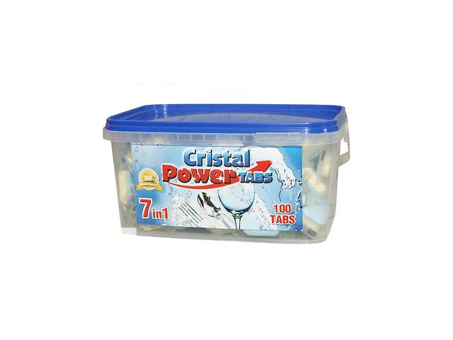 продам Таблетки для посудомоечных машин Cristal Power 7w1 100 шт. Германия бу в Киеве