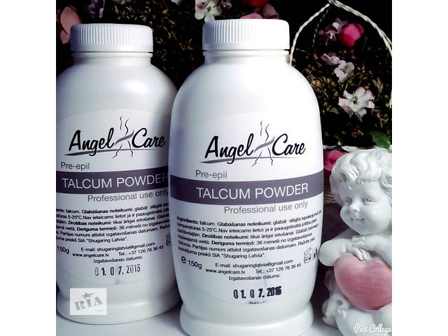 бу Тальк для депиляции (шугаринга) Angel Care (Латвия)   в Украине