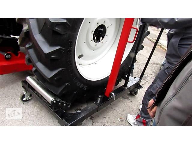 бу Тележка для перемещения, снятия тракторных и грузовых колес. в Дубно