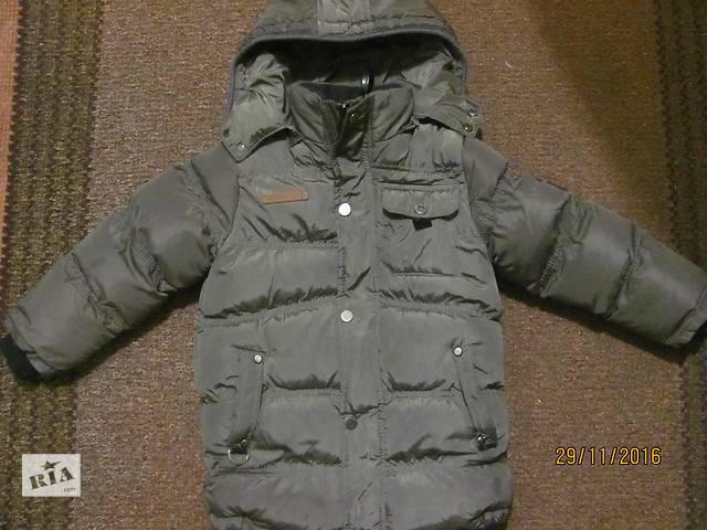 продам Теплая куртка для мальчика, состояние идеальное!!! на 3-4 года бу в Луцке