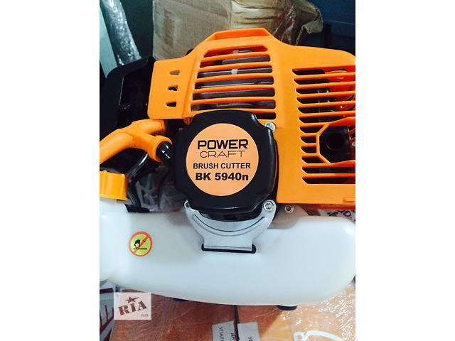 Бензокоса Power craft BK 5940 n (4 кВт/ 5.5 л.с) триммер, мотокоса- объявление о продаже  в Николаеве