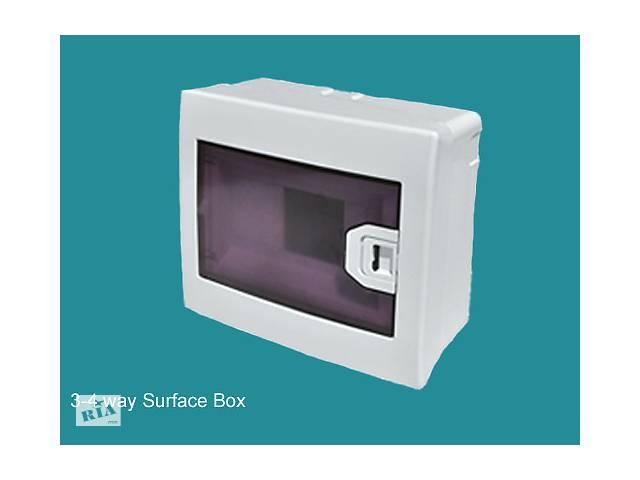 Коробка для 3-4 автоматов наружной установки