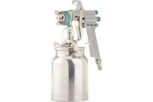 Краскораспылитель (краскопульт) AS 702 НP профессиональный, всасывающего типа, сопло 1,8 мм и 2,0 мм Stels